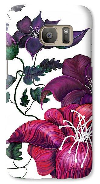 Galaxy Case featuring the digital art Perception by Yolanda Raker