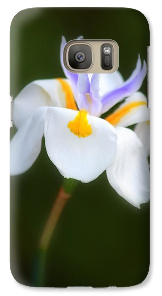 Galaxy Case featuring the photograph Petite Flower by Patrick Witz