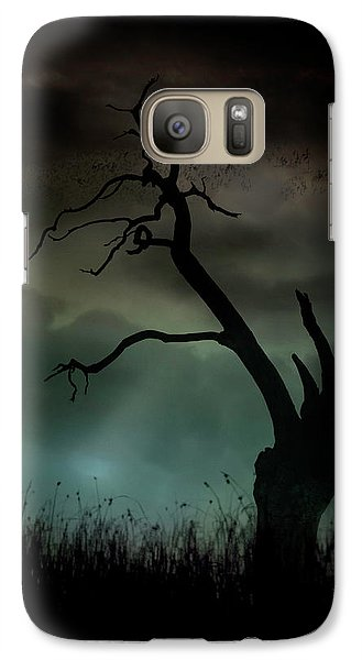 Galaxy Case featuring the photograph Petrified by Richard Piper