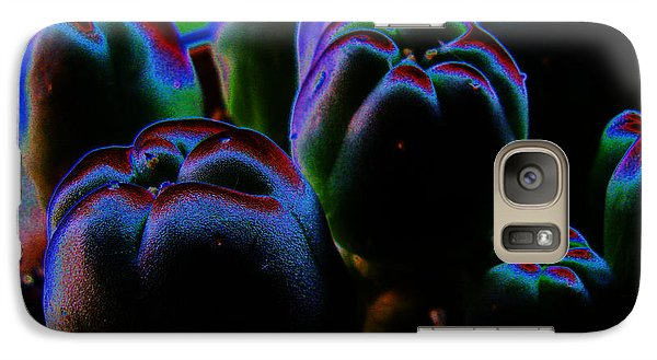 Galaxy Case featuring the photograph Peyote Mind by Susanne Still