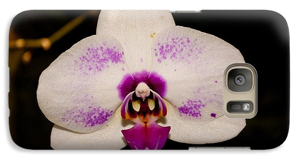 Galaxy Case featuring the photograph Phalaenopsis White Orchid by Tikvah's Hope