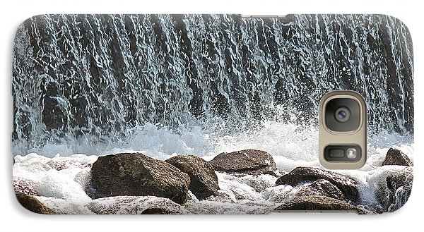 Galaxy Case featuring the photograph Phelps Mill Dam by Penny Meyers