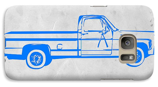 Beetle Galaxy S7 Case - Pick Up Truck by Naxart Studio