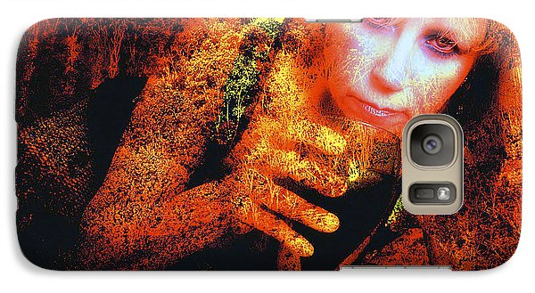 Galaxy Case featuring the photograph Picnic In The Forest by Clayton Bruster