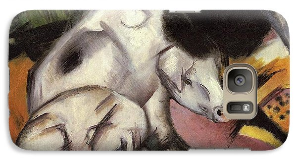 Pigs Galaxy S7 Case by Franz Marc