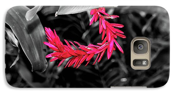 Galaxy Case featuring the photograph Pink Curve by Rachel Cohen