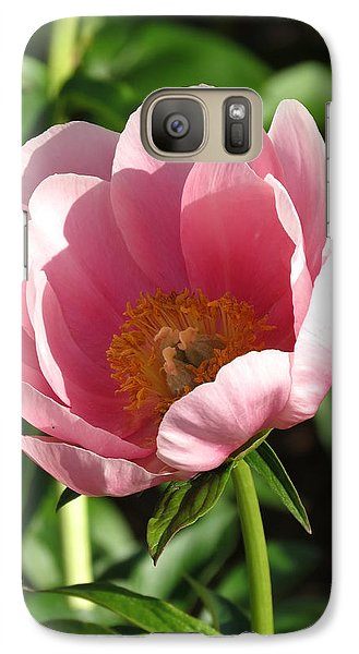 Galaxy Case featuring the photograph Pink Floral by Rebecca Overton