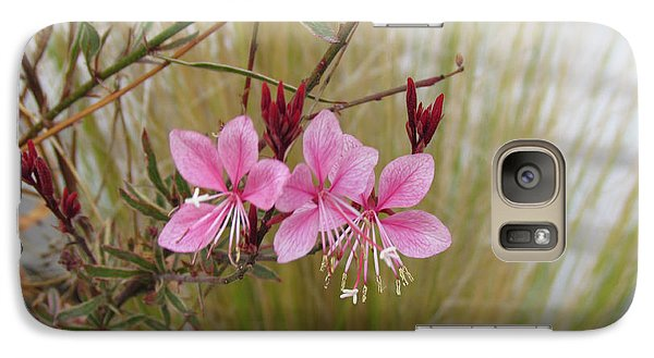 Galaxy Case featuring the photograph Pink Fountain - Guara by Bonnie Muir