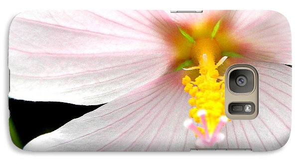 Galaxy Case featuring the photograph Pink Hybiscus by Jodi Terracina