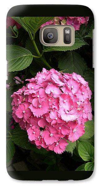 Galaxy Case featuring the digital art Pink Hydranga by Claude McCoy