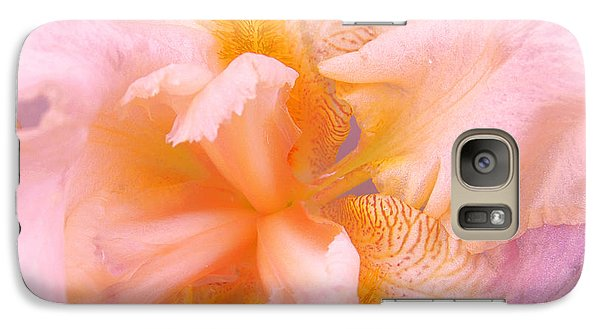 Galaxy Case featuring the photograph Pink Iris by Cindy Lee Longhini