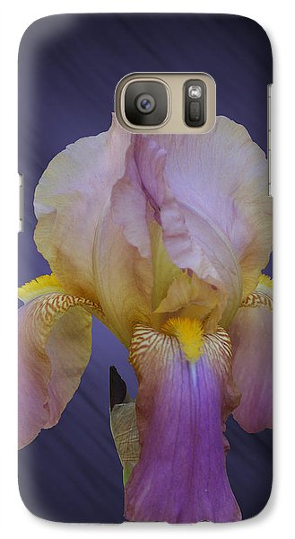 Galaxy Case featuring the photograph Pink Iris by Rick Friedle