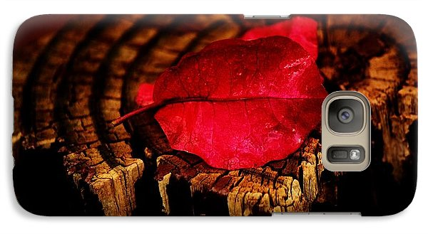 Galaxy Case featuring the photograph Pink Petal by Jessica Shelton