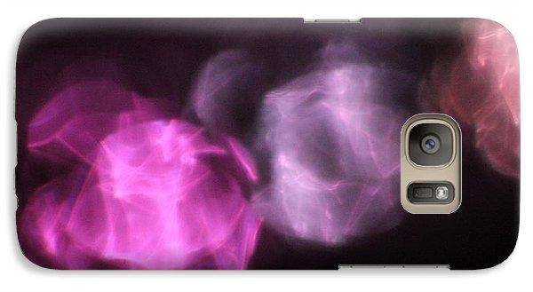 Galaxy Case featuring the photograph Pink Reflection by Carolina Liechtenstein