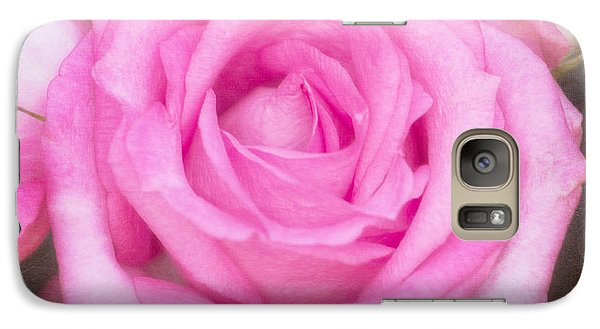 Galaxy Case featuring the photograph Pink Surprise by Joan Bertucci