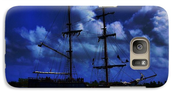 Galaxy Case featuring the photograph Pirate's Blue Sea by Patrick Witz