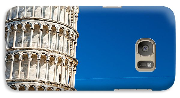 Galaxy Case featuring the photograph Pisa Leaning Tower by Luciano Mortula