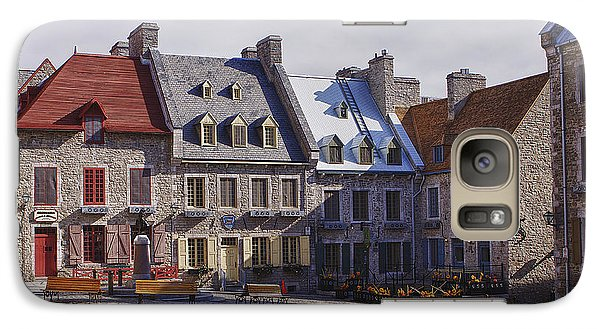 Galaxy Case featuring the photograph Place Royale by Eunice Gibb