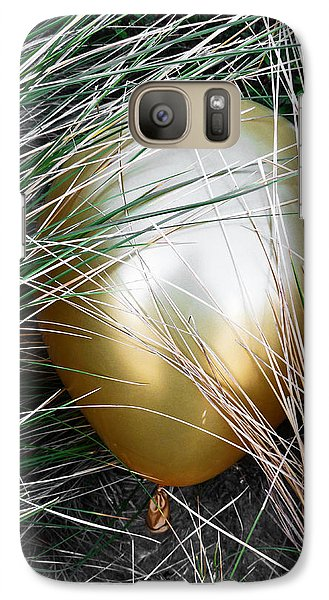 Galaxy Case featuring the photograph Playing Hide And Seek by Steve Taylor