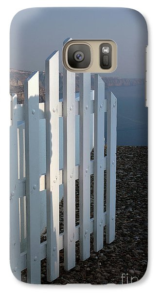 Galaxy Case featuring the photograph Please Come In by Vivian Christopher