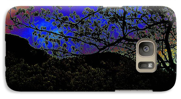 Galaxy Case featuring the photograph Plum Grove At Dusk by Susanne Still