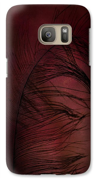 Galaxy Case featuring the photograph Plum Tickled by Robin Dickinson