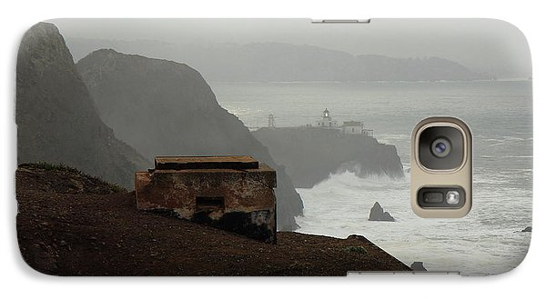 Galaxy Case featuring the photograph Point Bonita Lighthouse And Battery by Scott Rackers