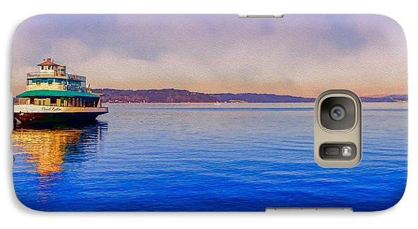 Galaxy Case featuring the photograph Point Ruston Awaiting by Ken Stanback