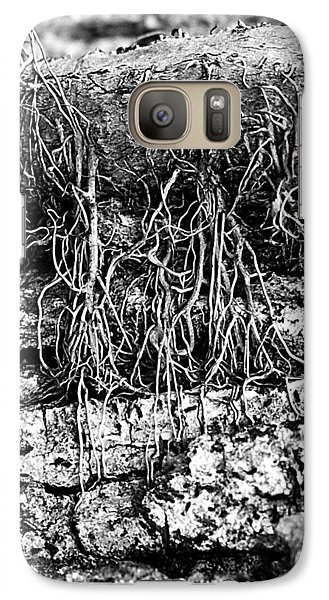 Galaxy Case featuring the photograph Poison Ivy Roots by Judi Bagwell