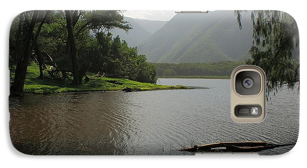 Galaxy Case featuring the photograph Pololu Valley Off Awini Trail by Scott Rackers