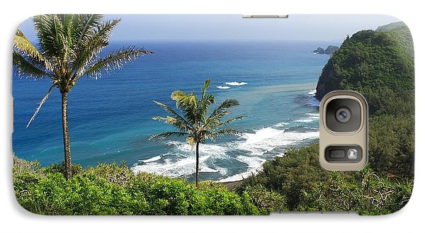 Galaxy Case featuring the photograph Pololu Valley by Scott Rackers