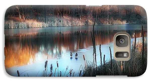 Galaxy Case featuring the photograph Pond Creek by Michelle Frizzell-Thompson