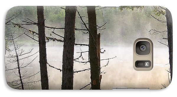 Galaxy Case featuring the photograph Pond In Jackman by Robin Regan