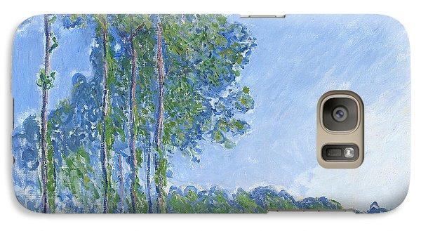 Poplars Galaxy S7 Case by Claude Monet