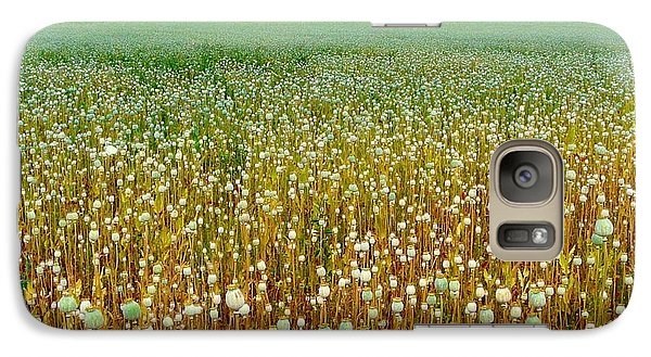 Galaxy Case featuring the photograph Poppy Fields Forever by Rdr Creative