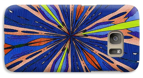 Galaxy Case featuring the digital art Portal To The Past by Alec Drake