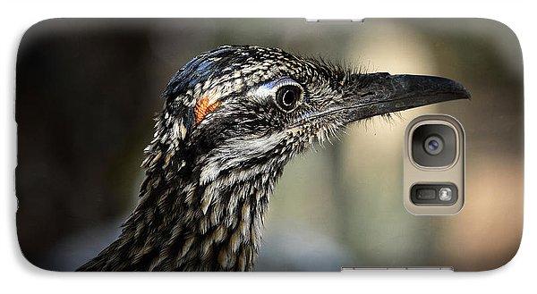 Portrait Of A Roadrunner  Galaxy S7 Case by Saija  Lehtonen