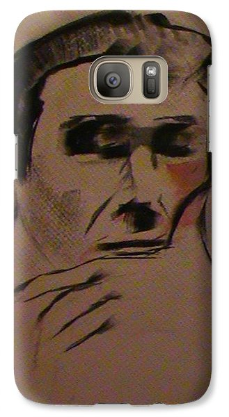 Galaxy Case featuring the painting Portrait Of Frank Frazetta by George Pedro