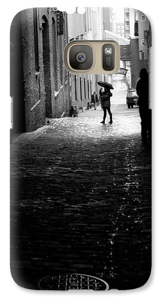 Galaxy Case featuring the photograph Post Alley by Mitch Shindelbower