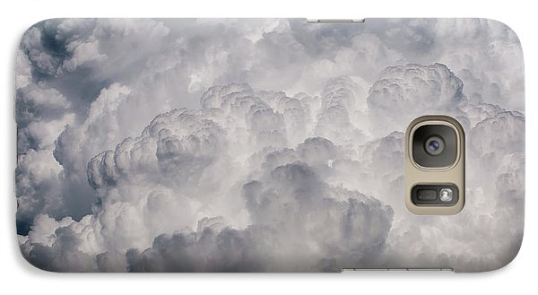 Galaxy Case featuring the photograph Powder Puff by Colleen Coccia