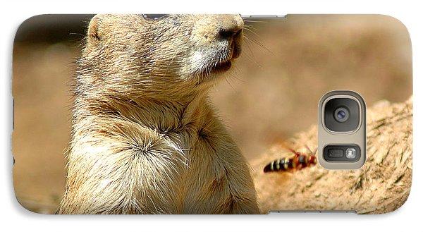 Prarie Dog Bee Alert Galaxy S7 Case by LeeAnn McLaneGoetz McLaneGoetzStudioLLCcom