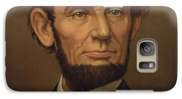 Galaxy Case featuring the photograph President Of The United States Of America - Abraham Lincoln  by International  Images