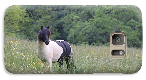 Galaxy Case featuring the photograph Pretty Little Pony by Laurinda Bowling