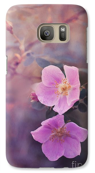 Prickly Rose Galaxy Case by Priska Wettstein