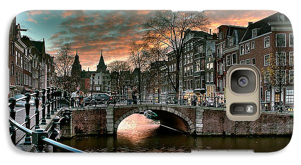 Prinsengracht And Reguliersgracht. Amsterdam Galaxy S7 Case