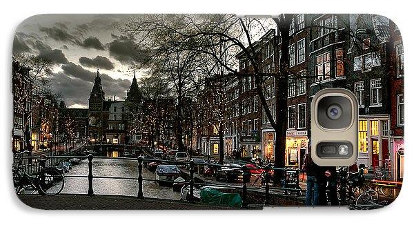 Prinsengracht And Spiegelgracht. Amsterdam Galaxy S7 Case