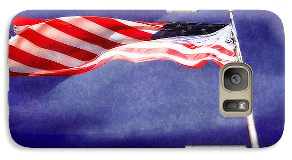 Galaxy Case featuring the photograph Proud by Joan Bertucci