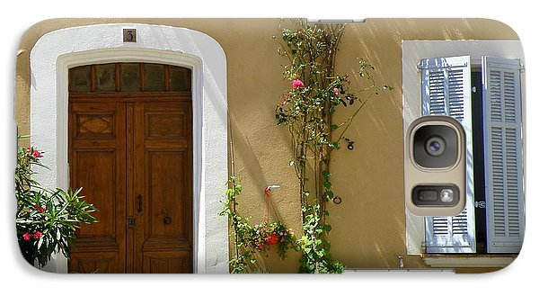 Galaxy Case featuring the photograph Provence Door 3 by Lainie Wrightson