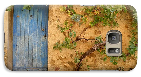 Galaxy Case featuring the photograph Provence Door 5 by Lainie Wrightson
