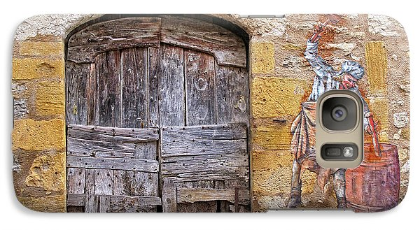 Galaxy Case featuring the photograph Provence Window And Wall Painting by Dave Mills